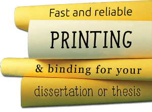 dissertation-printing